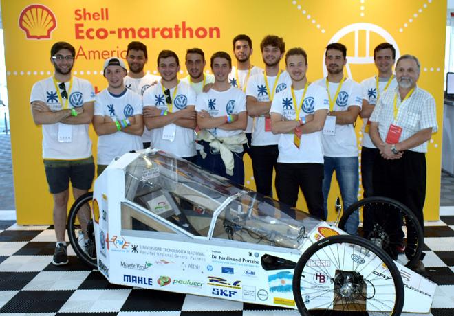 VW y Raizen acompanan al equipo de la UTN FRGP en una nueva edicion de Shell Eco-Marathon Americas 1