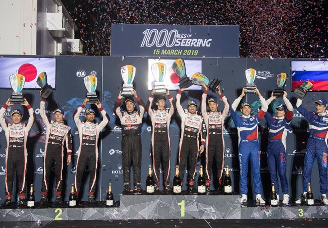 WEC - 1000 millas de Sebring 2019 - El Podio