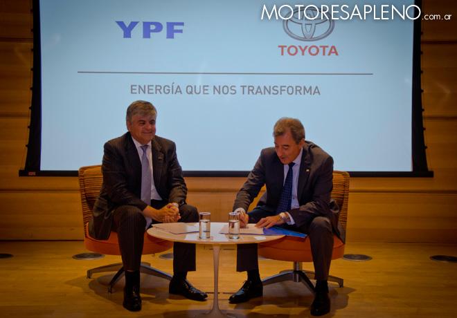 YPF y Toyota fortalecen su alianza estrategica 1