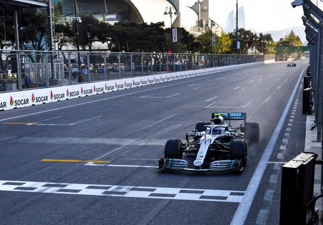 F1 - Azerbaiyan 2019 - Carrera - Valtteri Bottas - Mercedes GP