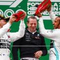 F1 - China 2019 - Carrera - Valtteri Bottas - Lewis Hamilton en el Podio