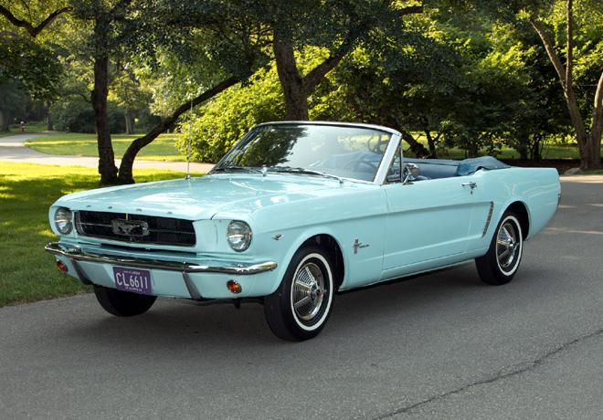 Mustang celebra 55 años de historia.