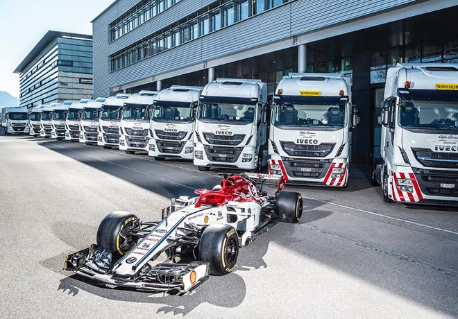 Formula 1 - IVECO proveedor oficial de Alfa Romeo Racing 1