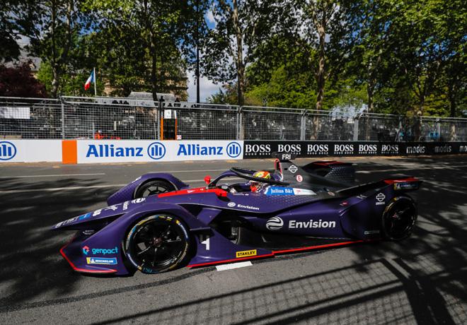 Formula E - Paris - Francia 2019 - Carrera - Robin Frijns - Envision Virgin Racing