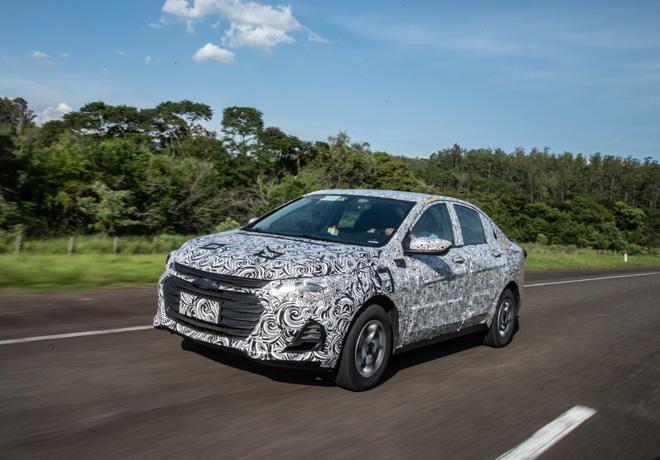 GM prepara nuevo sedan para la region 1