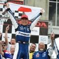 IndyCar - Birmingham 2019 - Carrera - Takuma Sato en el Podio