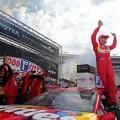 NASCAR - Bristol 2019 - Kyle Busch en el Victory Lane