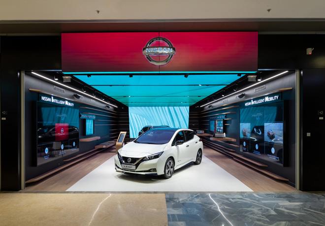 Nissan City Hub hace su debut mundial en Francia