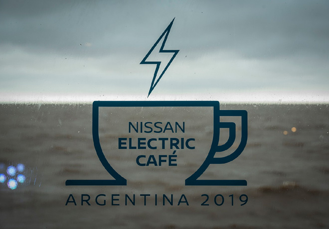 Nissan Electric Cafe Argentina 2019