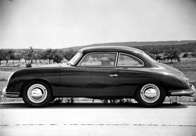 Porsche 530 basado en el modelo 356