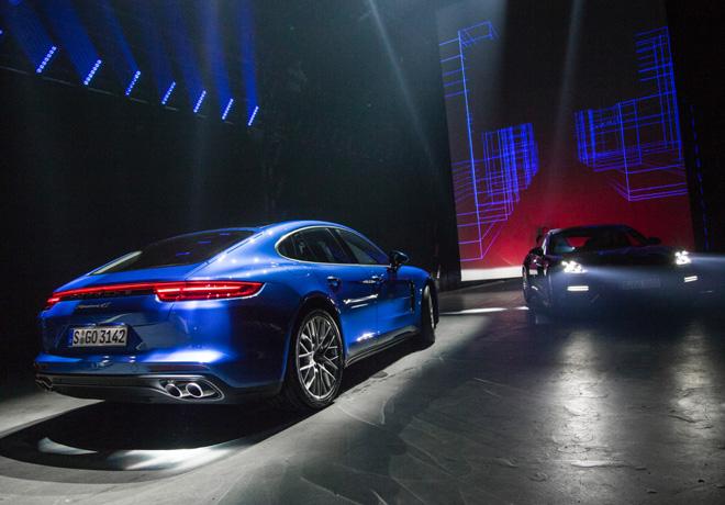 Porsche - Panamera G2 - Presentacion mundial en Berlin 2016