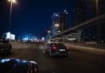 Porsche Taycan en Dubai sometido a pruebas a altas temperaturas durante la noche