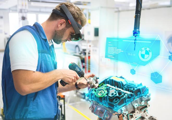 Realidad virtual y aumentada en el sistema de produccion de BMW Group 2