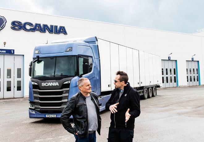 Scania ofrece financiacion en pesos y un paquete de servicios sin costo con la comprade unidades de su nueva generacion
