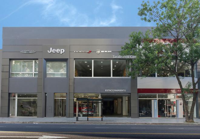 Taraborelli abrio un nuevo concesionario Jeep Chrysler Dodge y RAM en Caballito