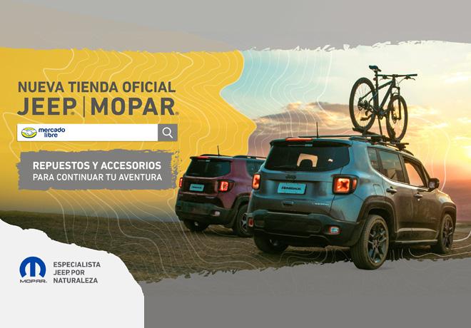 Tienda Oficial de repuestos y accesorios Jeep Mopar en Mercado Libre en Argentina