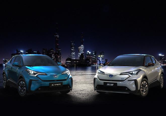 Toyota C-HR e IZOA EV
