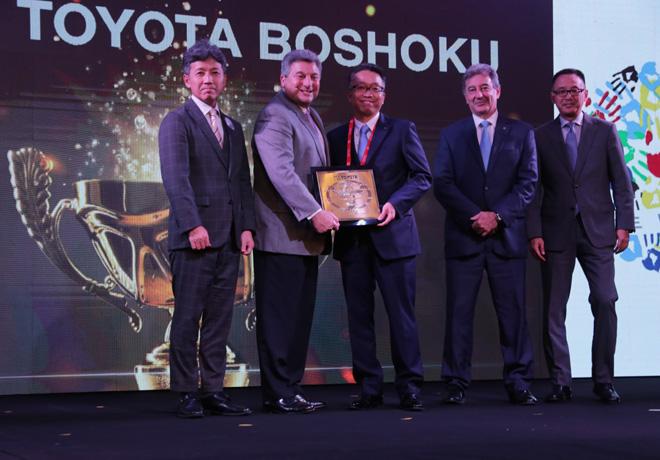Toyota premio a sus mejores proveedores de Brasil y Argentina