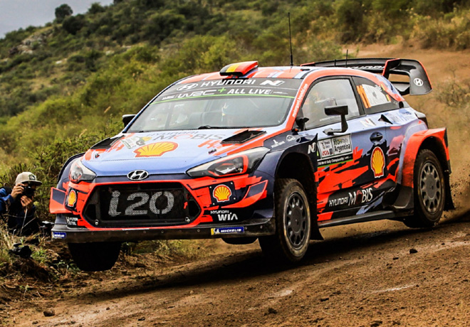 WRC - Argentina 2019 - Dia 1 - Thierry Neuville - Hyundai i20 WRC