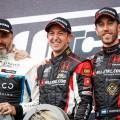 WTCR - Hungaroring - Hungria 2019 - Carrera 1 - Yvan Muller - Nestor Girolami - Esteban Guerrieri en el Podio