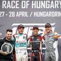 WTCR - Hungaroring - Hungria 2019 - Carrera 2 - Jean-Karl Vernay - Nestor Girolami - Daniel Haglof en el Podio