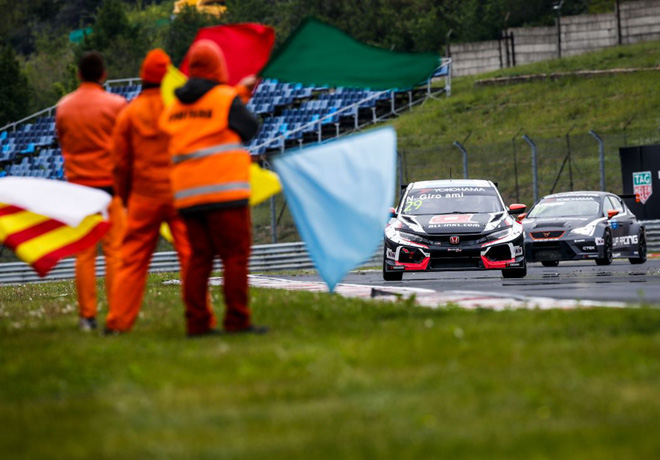 WTCR - Hungaroring - Hungria 2019 - Carrera 2 - Nestor Girolami - Honda Civic TCR