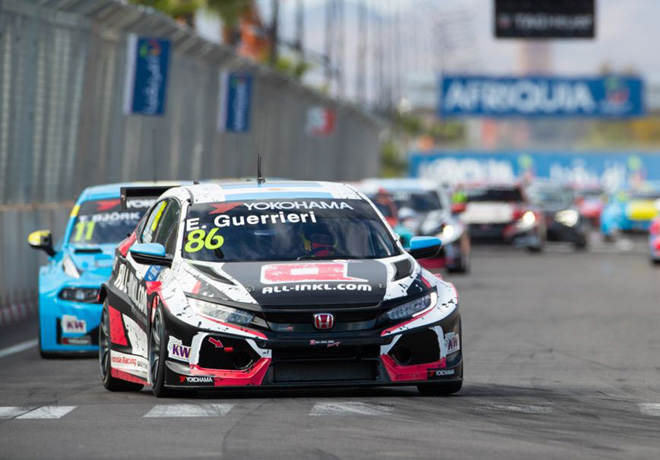 WTCR - Marrakech - Marruecos 2019 - Carrera 1 - Esteban Guerrieri - Honda Civic TCR