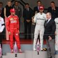 F1 - Monaco 2019 - Carrera - Sebastian Vettel - Lewis Hamilton - Valteri Bottas en el Podio