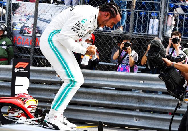 F1 - Monaco 2019 - Clasificacion - Lewis Hamilton - Mercedes GP