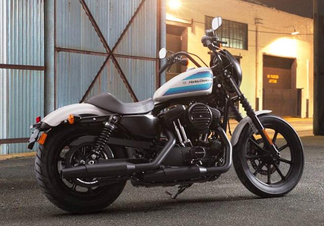 Harley-Davidson Sportster Iron 1200 Billard White