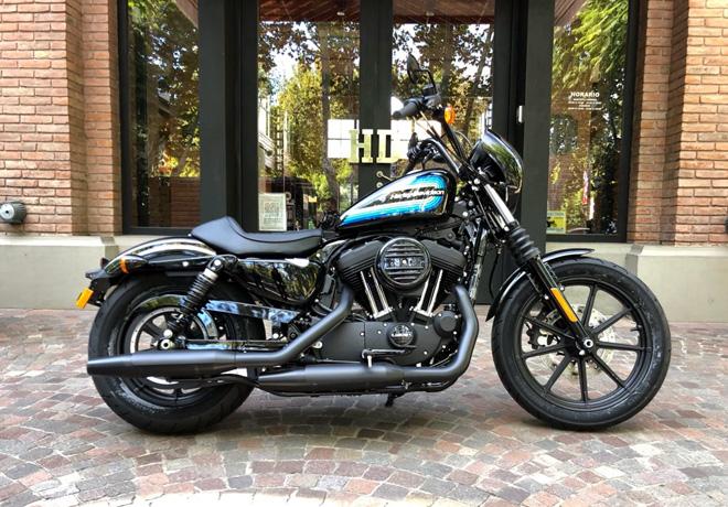 Harley-Davidson Sportster Iron 1200 Vivid Black