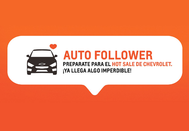 Hot Sale - Chevrolet Auto Follower