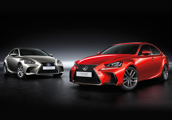 Lexus IS 300h Luxury y IS 300 F-Sport
