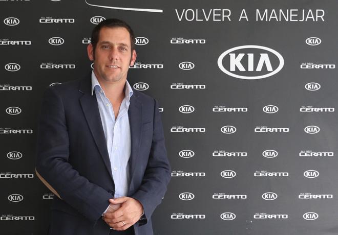 Luciano Ferrari - Gerente Comercial Marketing y Producto de Kia Argentina