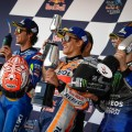 MotoGP - Jerez 2019 - Alex Rins - Marc Marquez - Maverick Vinales en el Podio