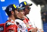 MotoGP - Le Mans 2019 - Andrea Dovizioso - Marc Marquez - Danilo Petrucci en el Podio