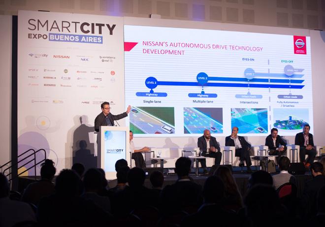 Nissan en la segunda edicion de Smart City Expo Buenos Aires