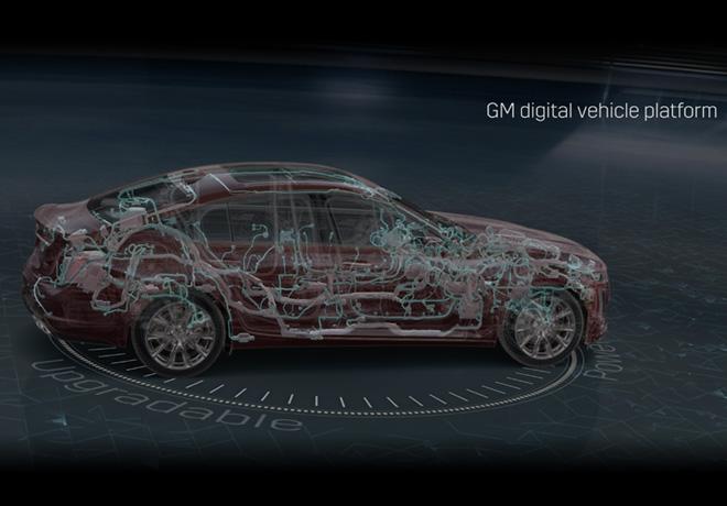 Nueva arquitectura electronica vehicular de GM permite la llegada del auto del futuro