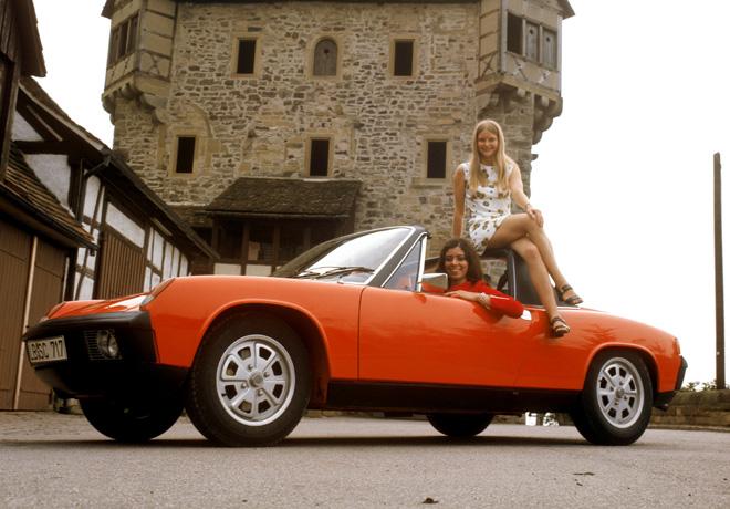El Museo Porsche conmemora el 50º aniversario del deportivo 914 con motor central.