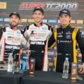 STC2000 - Villicum - San Juan 2019 - Carrera - Julian Santero - Matias Rossi - Matias Milla en el Podio