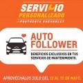 Servicio Personalizado Postventa Chevrolet - Auto Follower - Hot Sale