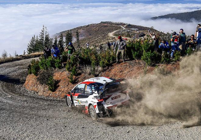 WRC - Chile 2019 - Dia 2 - Ott Tanak - Toyota Yaris WRC