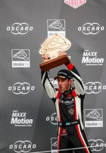 WTCR - Eslovaquia 2019 - Carrera 2 - Esteban Guerrieri en el Podio