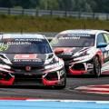 WTCR - Eslovaquia 2019 - Carrera 2 - Nestor Girolami - Esteban Guerrieri - Honda Civic TCR