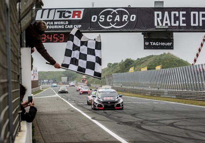 WTCR - Zandvoort - Holanda 2019 - Carrera 2 - Esteban Guerrieri - Honda Civic TCR