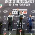 WTCR - Zandvoort - Holanda 2019 - Carrera 3 - Yann Ehrlacher - Thed Bjork - Norbert Michelisz en el Podio