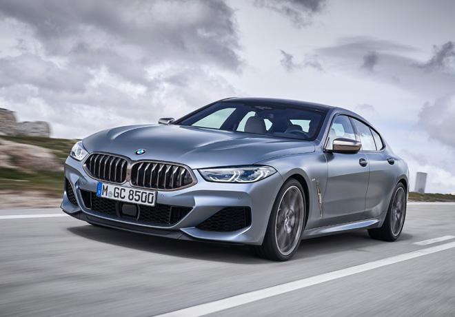 BMW 8 Series Gran Coupe 1