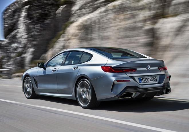 BMW 8 Series Gran Coupe 2