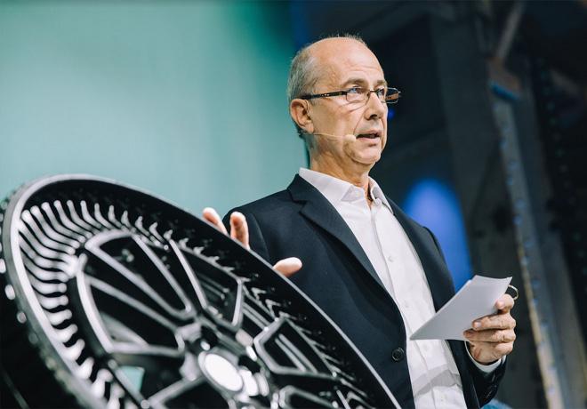 Eric Vinesse - Vicepresidente Ejecutivo de investigacion y desarrollo del Grupo Michelin