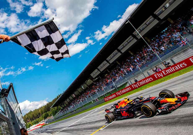 F1 - Austria 2019 - Carrera - Max Verstappen - Red Bull